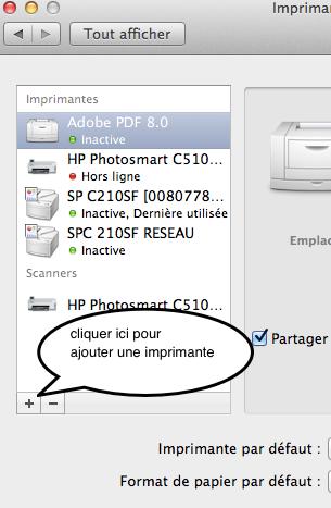 toutes les imprimantes et scanner